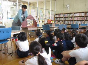 学校図書館支援員活動状況の写真・3