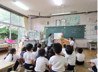 学校図書館支援員活動状況の写真・5